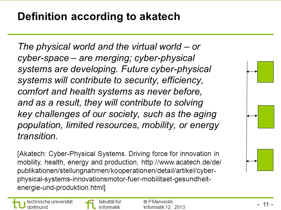 Definition according to akatech