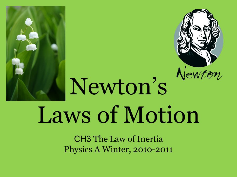 newtons three laws of motion essay
