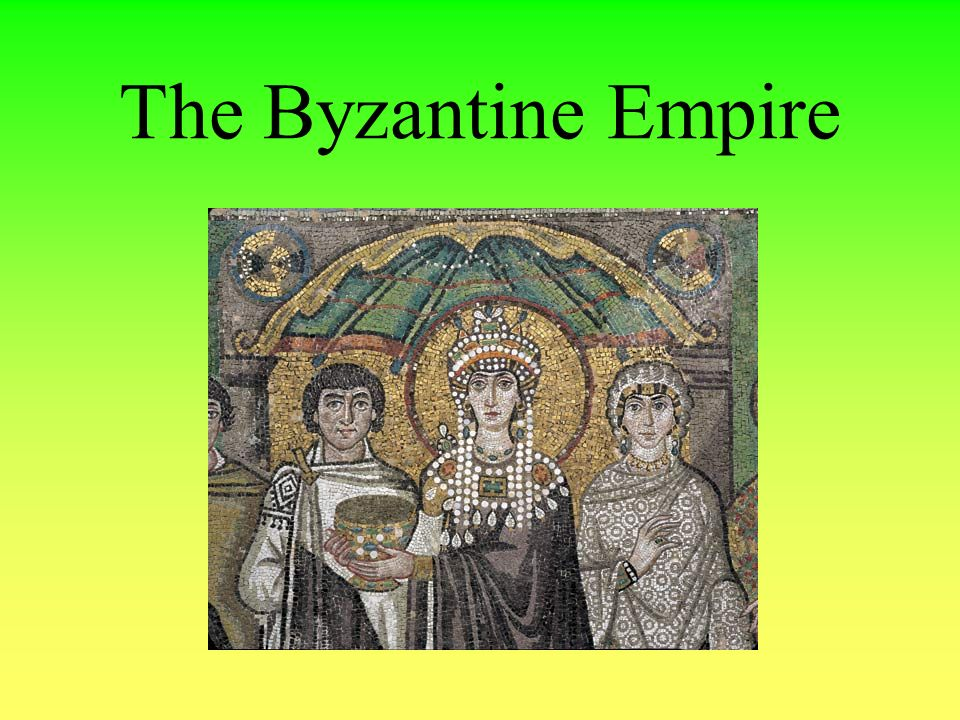 formation of the byzantine empire Of or relating to the highly coloured stylized form of religious art developed in the byzantine empire 4 of or relating to the style of architecture developed in the byzantine empire, characterized by massive domes with square bases , rounded arches , spires and minarets , and the extensive use of mosaics.