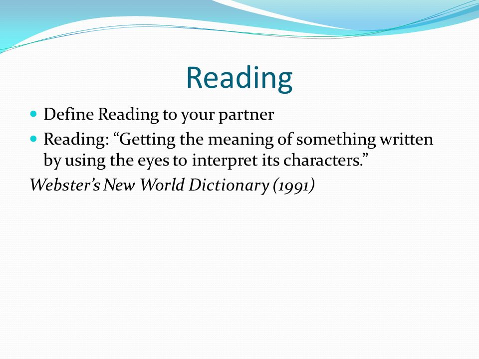 the meaning of reading comprehension pdf
