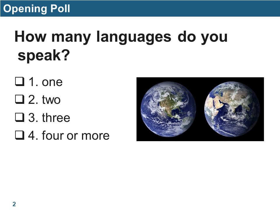HS Medical Terminology Unit Seminar August Rd Term Ppt Download - How many languages on earth