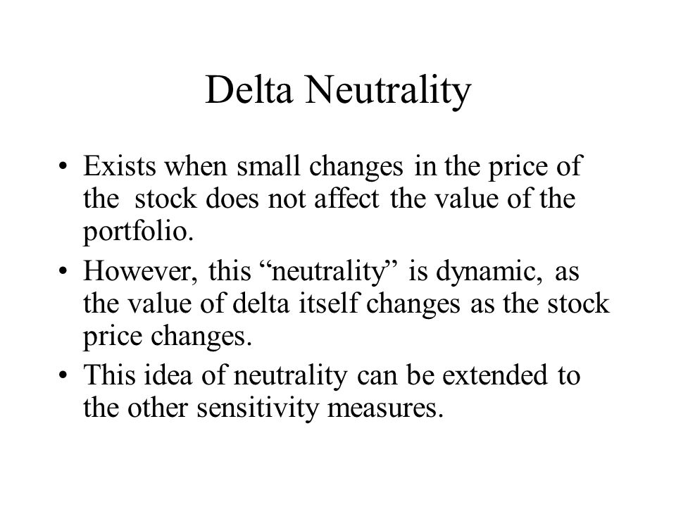 What does delta mean in stock options