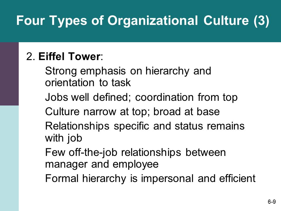 impersonal relationships between managers and employees relationship