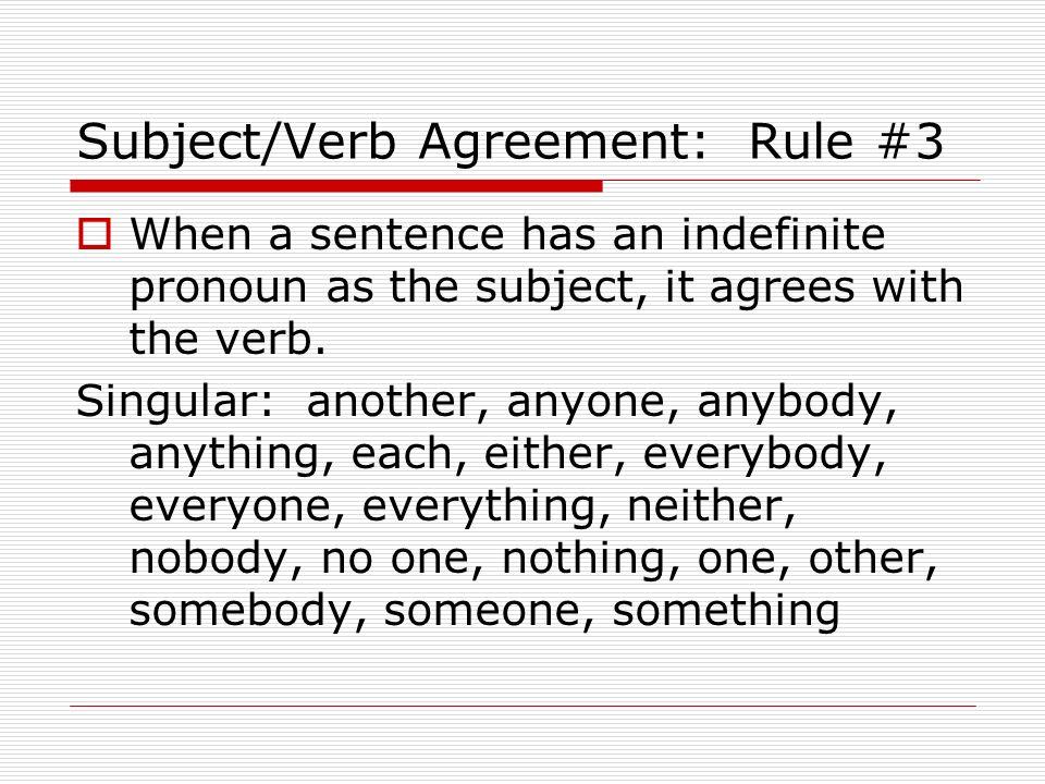 EOC Review Grammar Subject Verb Agreement Ppt