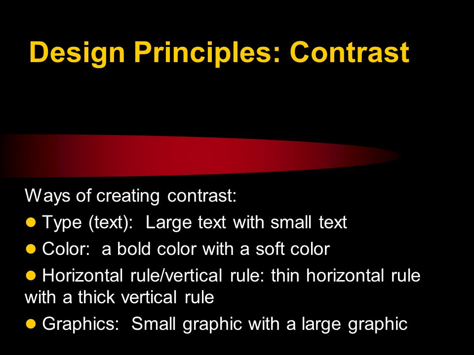 Lesson 4 Design Principles Ppt Download