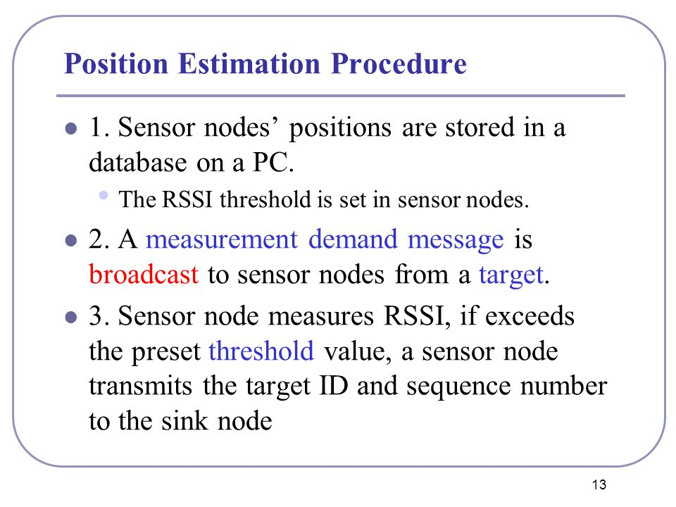 Distance Measurement Model Based on RSSI in WSN