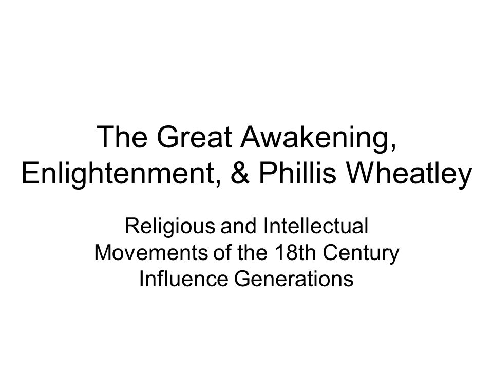 an overview of the great awakening of the 18th century The second great awakening by the end of the 18th century, many educated americans no longer professed traditional christian beliefs in reaction to the secularism of the age, a religious revival spread westward in the first half of the 19th century.