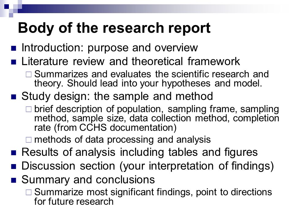 Purposes of literature review in the process of a scientific research