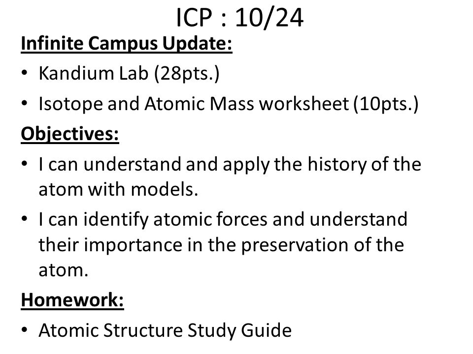 Atomic Structure PreAssess  Ppt Video Online Download