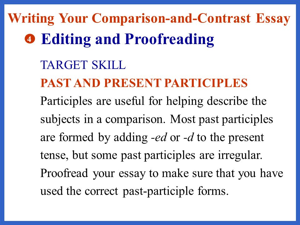 how to make sure you are writing in past tense