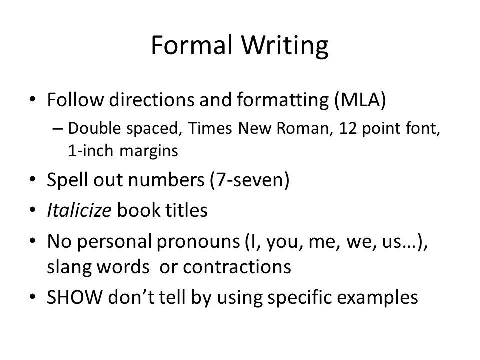 writing out numbers in formal essays What is the correct way to write a range of dollar figures it may be best to keep both billions in formal writing spell out numbers of one or two words.