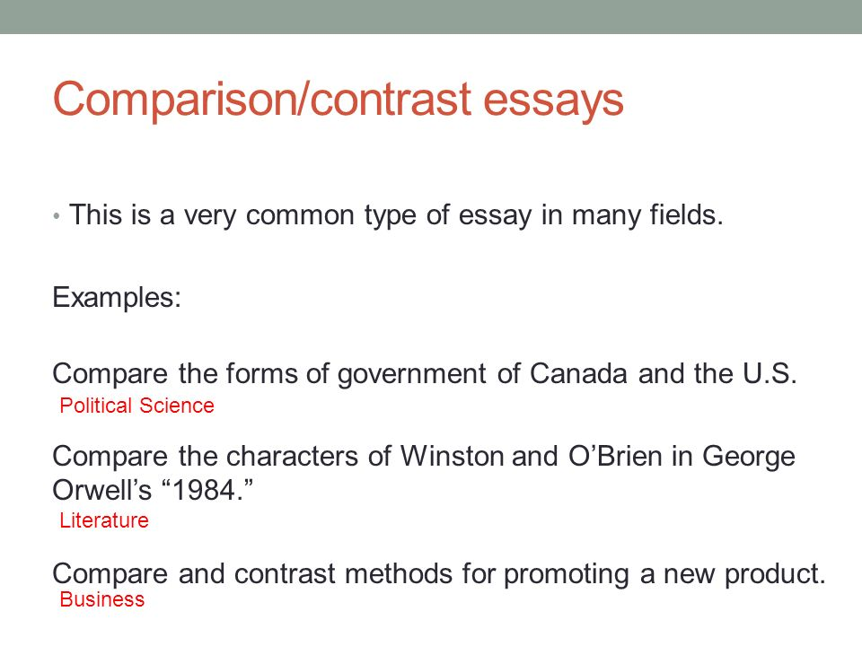 Compare or contrast two types of transportation essay