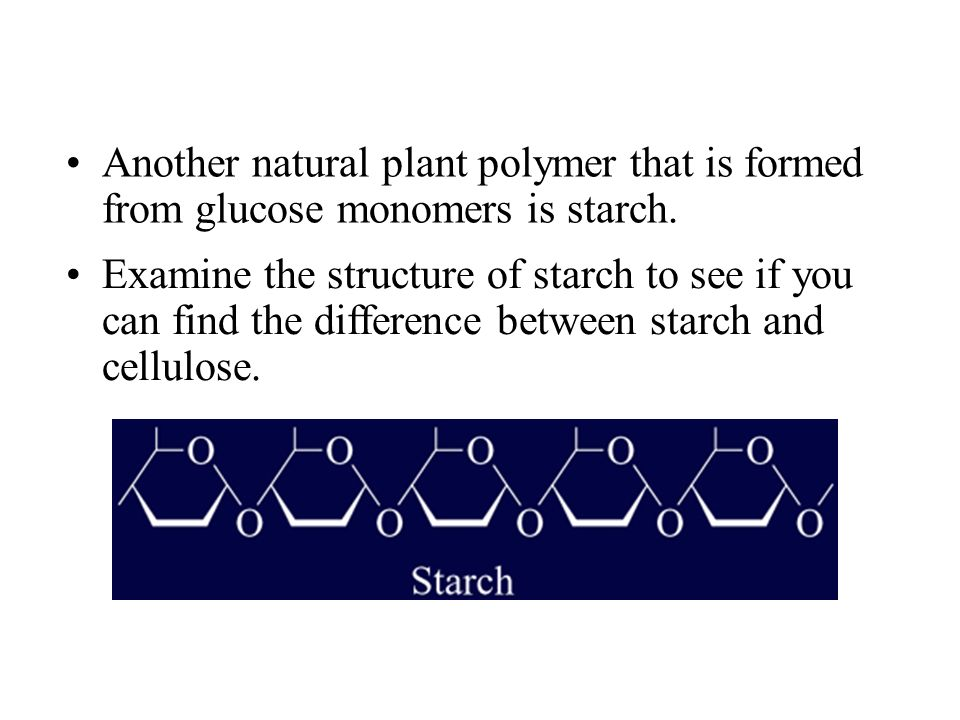 Difference Between Starch Cellulose and Glycogen