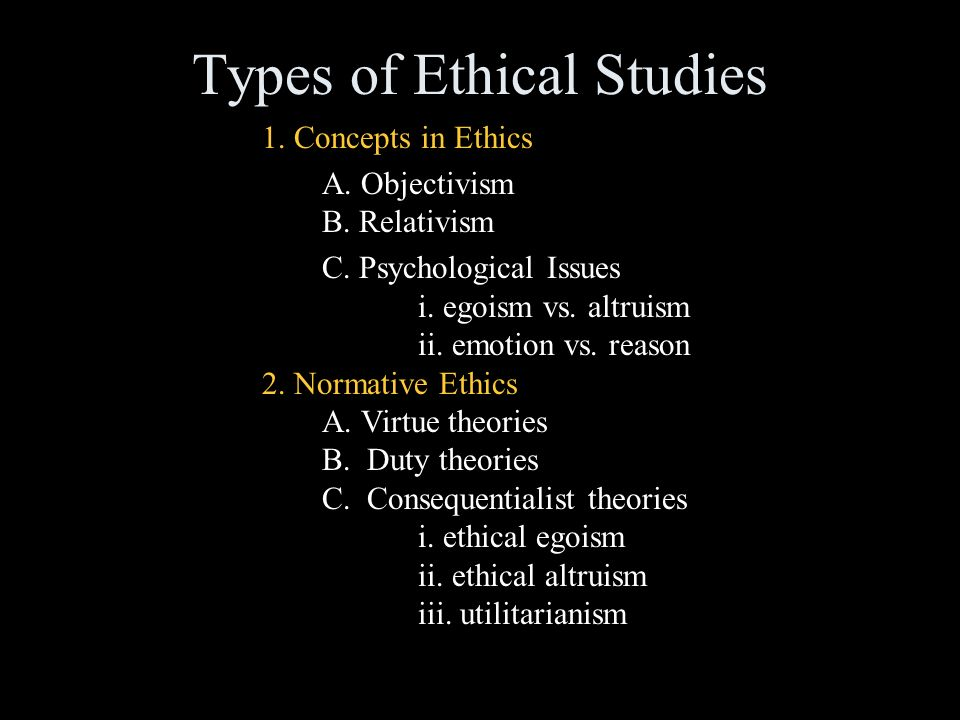 What is Ethics in Philosophy? - Definition & Types | Study.com