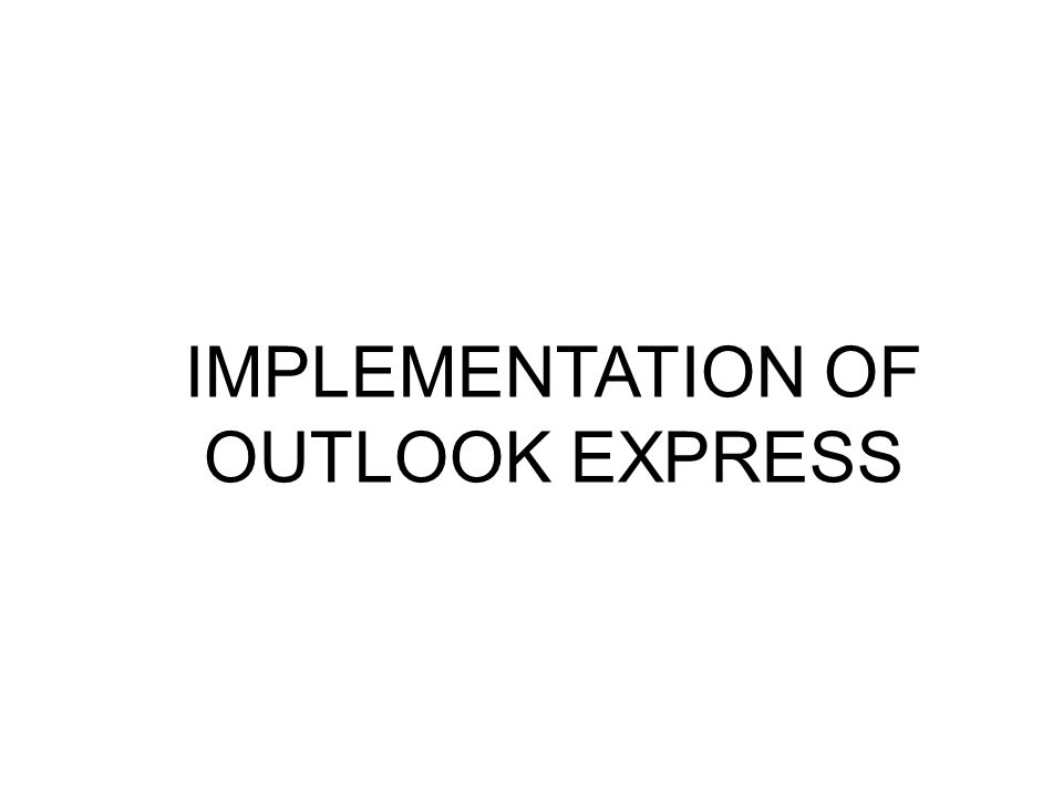 outlook express 6.0 windows 7 free download