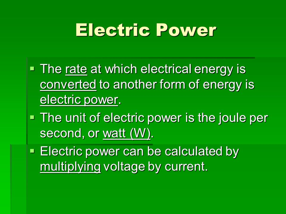Chapter 20: Electricity Jennie Borders. - ppt video online download
