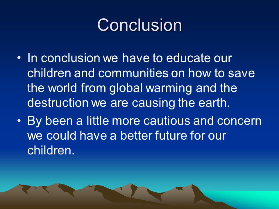 Global warming biggest problem essay