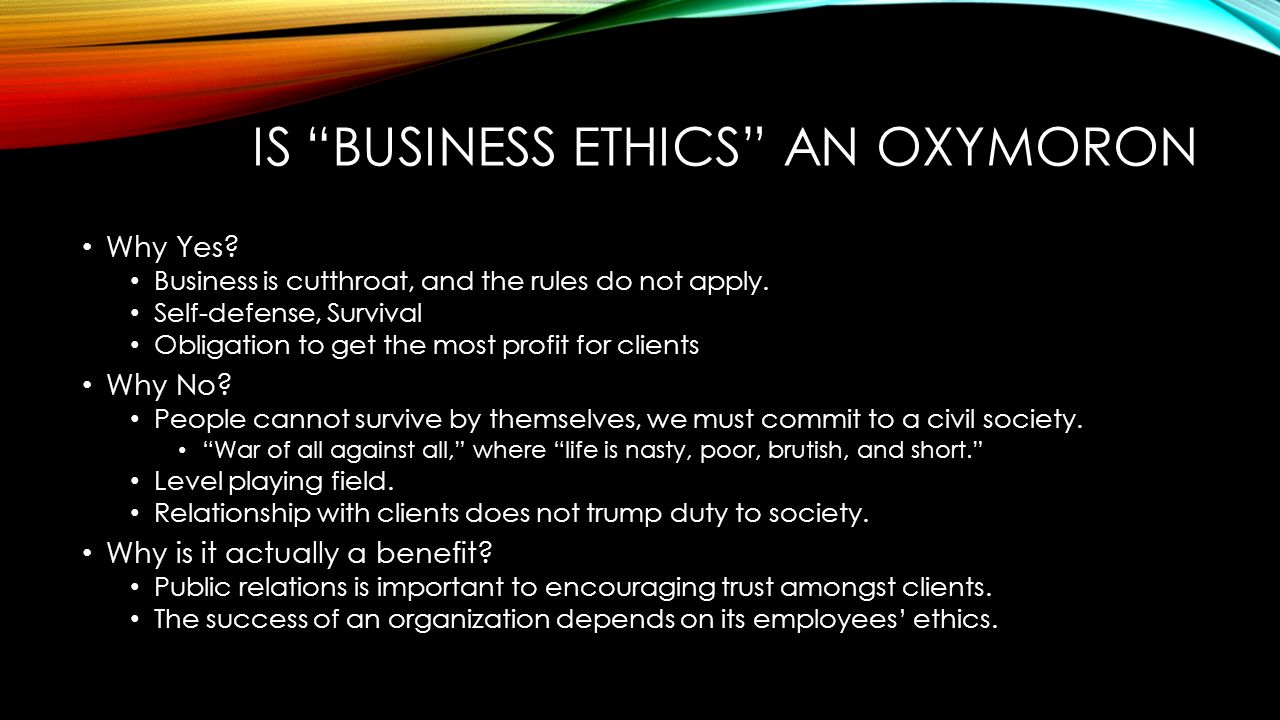 Business Ethics - Introduction