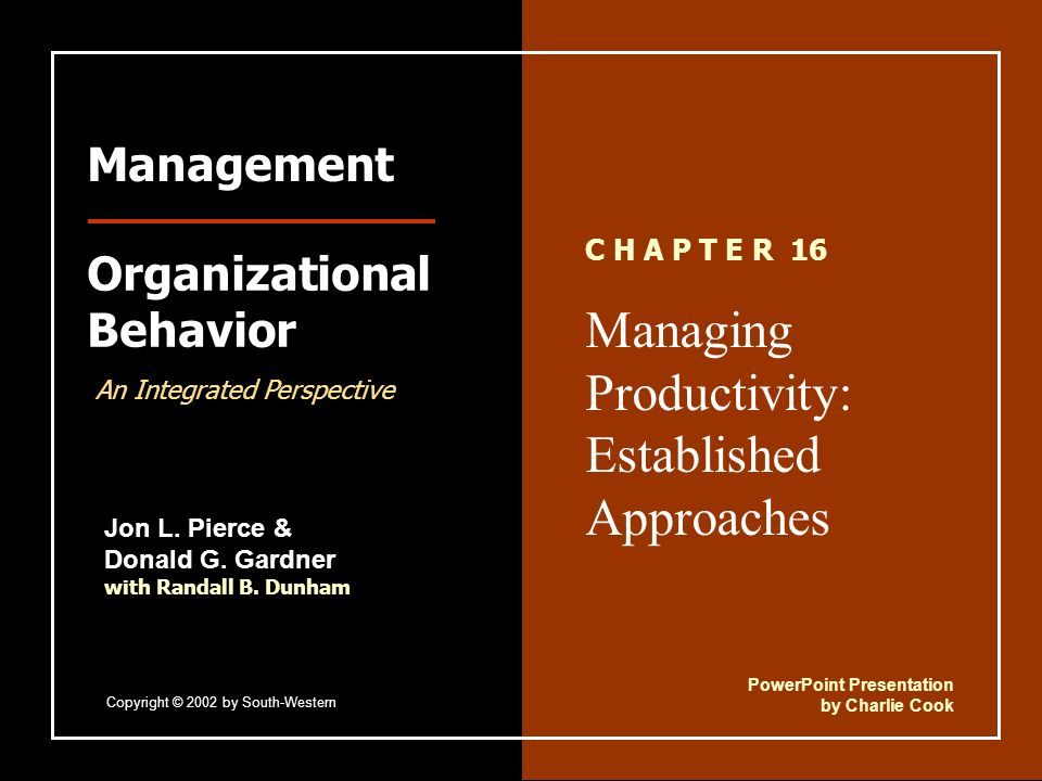 """approaches to management and organizational behaviour Lyze research on behavior management approaches we tend to flock to the """"flavor of controlling angry outbursts through evidence-based practices."""