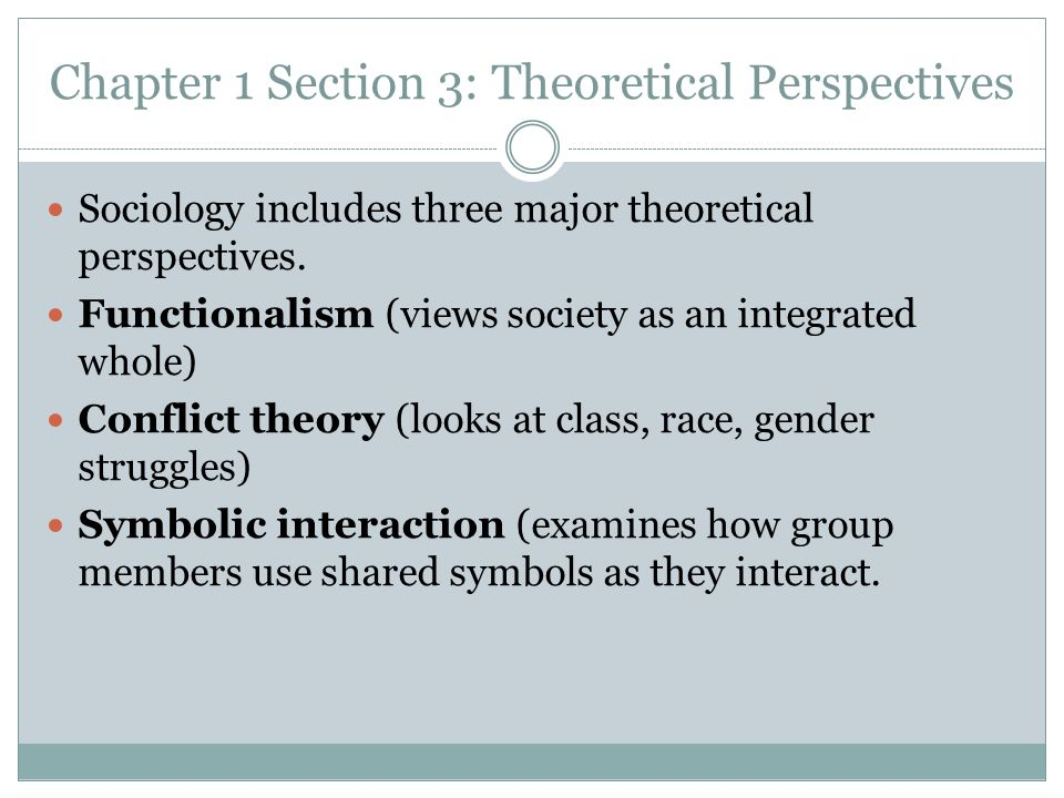 Theoretical Perspectives In Sociology Vaydileforic