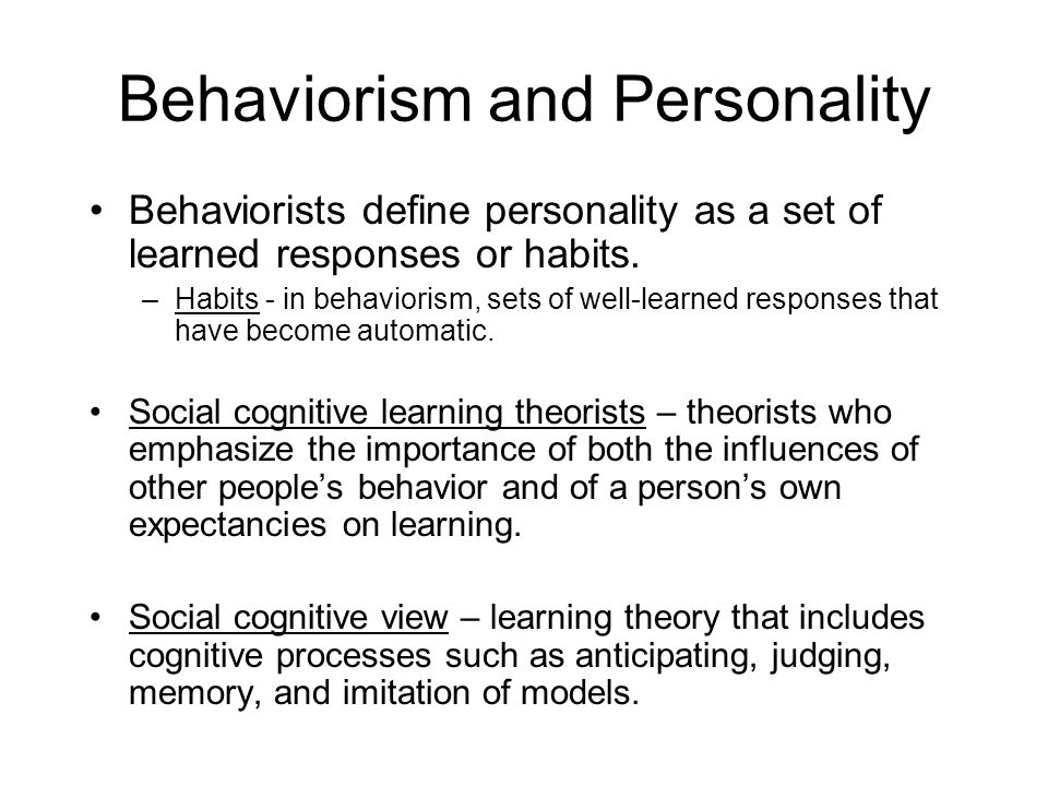 behaviorists cognitive and humanistic learning theories The behaviourist movement in psychology has looked to the use of experimental   these foundations and, in particular, developed a s-r (stimulus-response)  theory of learning  see, also: learning the behaviourist orientation to learning  the cognitive orientation to learning the humanistic orientation to learning the.
