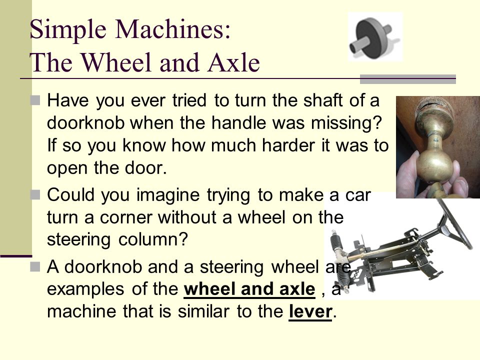 Simple Machines -Force, Work, & Power - ppt video online download