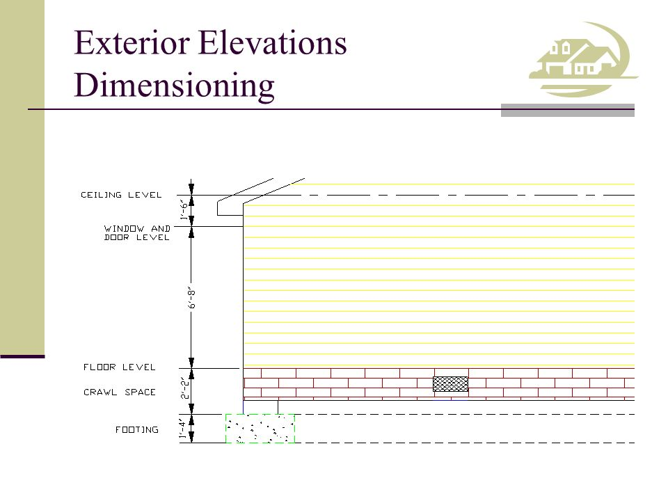 Finished Floor Elevation Definition Fema : Competency draw exterior elevations ppt video online