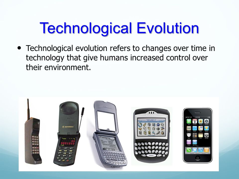 the evolution of the technological environment The impact of technology on healthcare april 24, 2018 bianca banova continuous technological developments in healthcare have saved countless lives and improved the quality of life for even more.