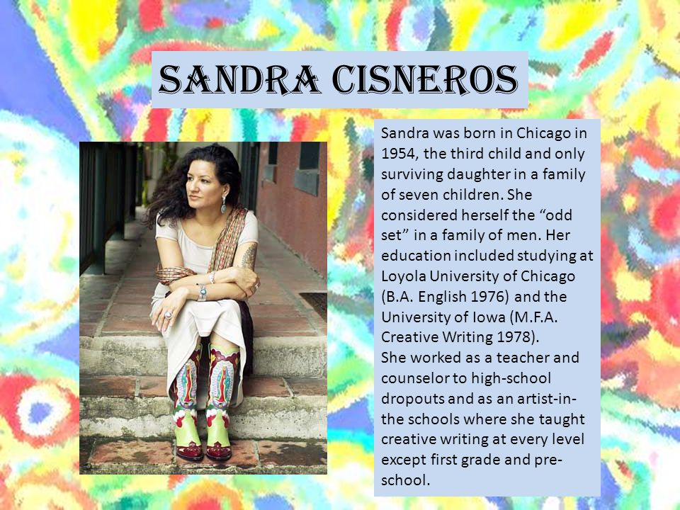 only daughter by sandra cisneros thesis Object moved this document may be found here.