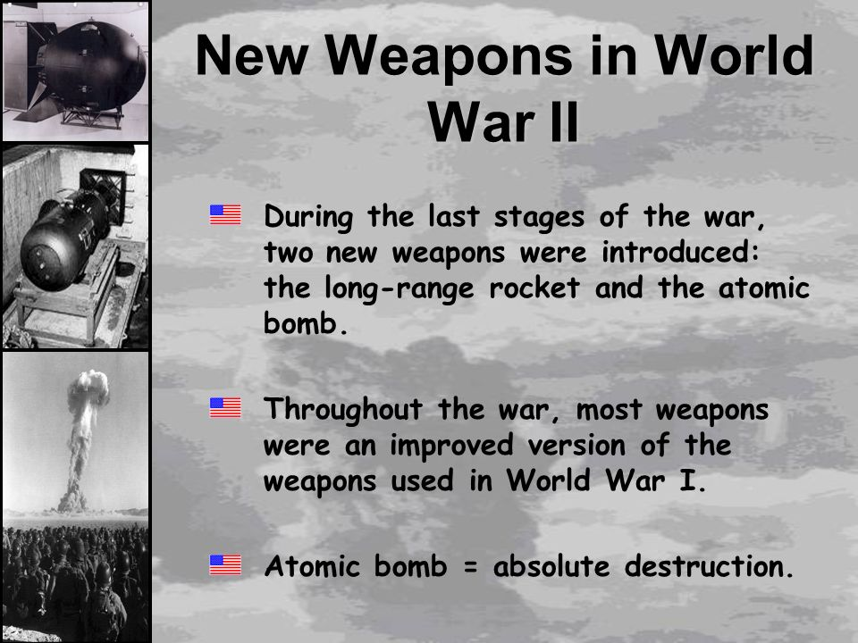 the significance of new weaponry and interventions in world war i The ww1 battlefield was a test bed for a range of new weapons that transformed the nature of war and helped shape the 1939-45 conflict  from the laboratory of the first world war emerged the .
