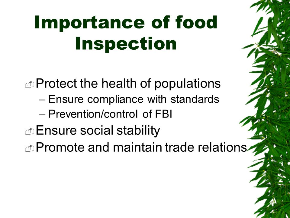 importance of food safety and sanitation essay When preparing a meal, many factors go into ensuring that the food is safe to consume the safety guidelines for food and food preparation need to be followed from.