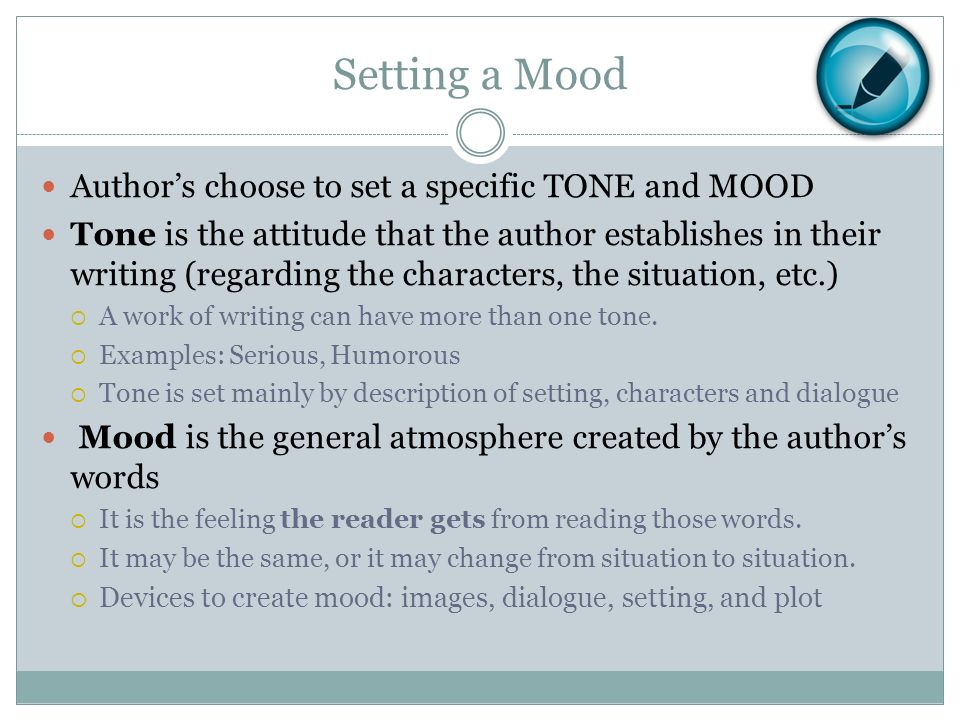 Difference Between Mood and Atmosphere