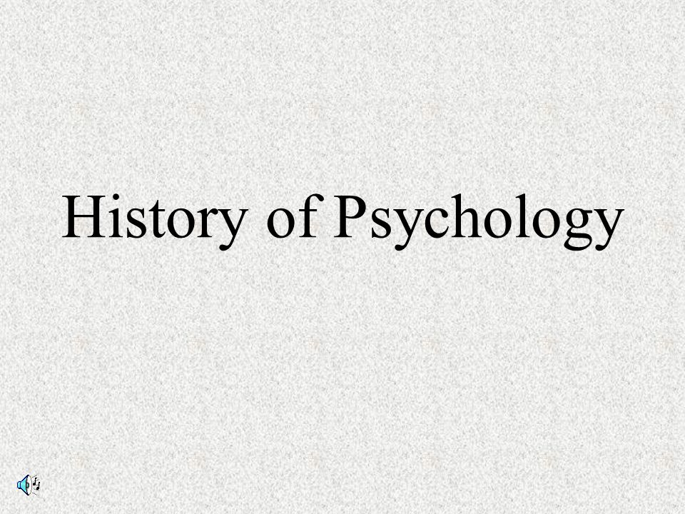history of psychology This is a general article on the history of psychology for a listing of the main area see: specific areas of interest in the history of psychology see also:timeline of psychology.