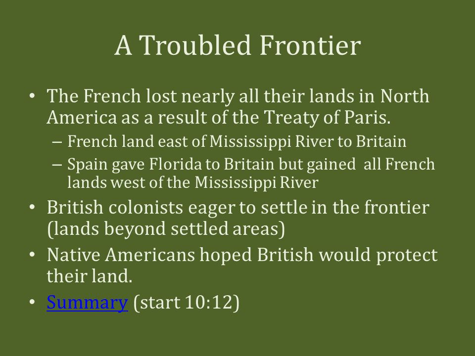 an overview of the french presence in north america Slavery and native americans in british north america and the united states: 1600 to 1865 in florida, and the french in louisiana sought trading partners and allies among the indians, offering trading goods such as metal knives and axes.