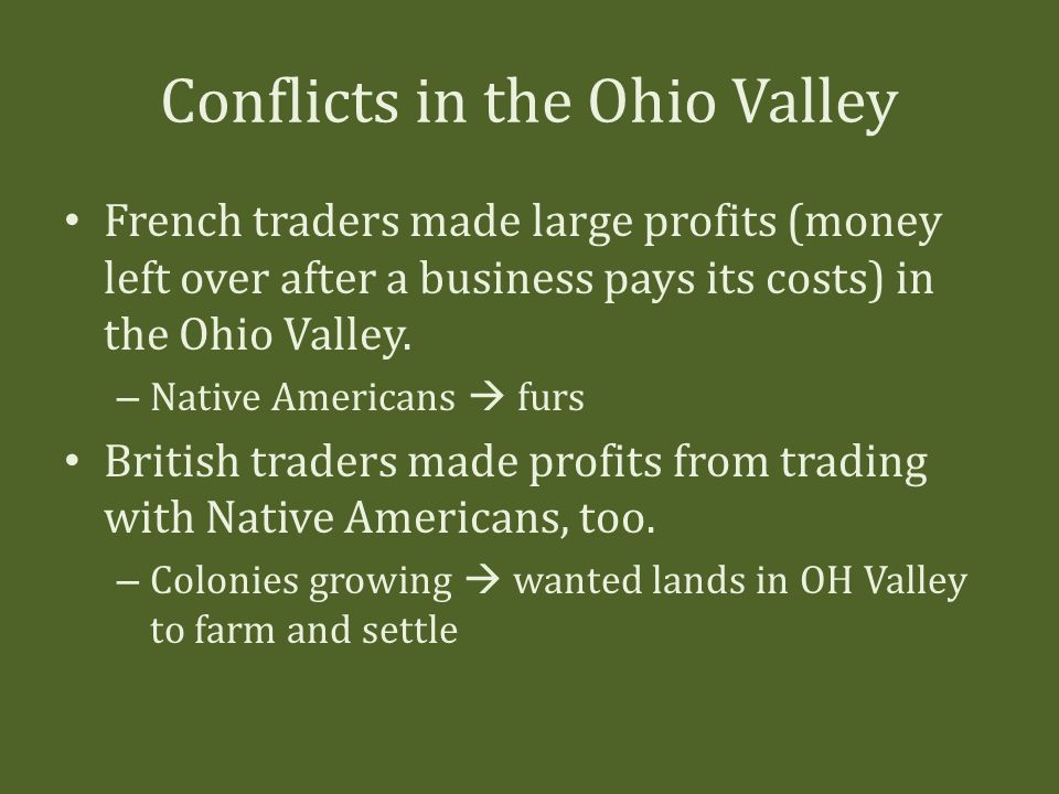 The french and indian war ppt video online download - Growing french walnuts for a profit ...