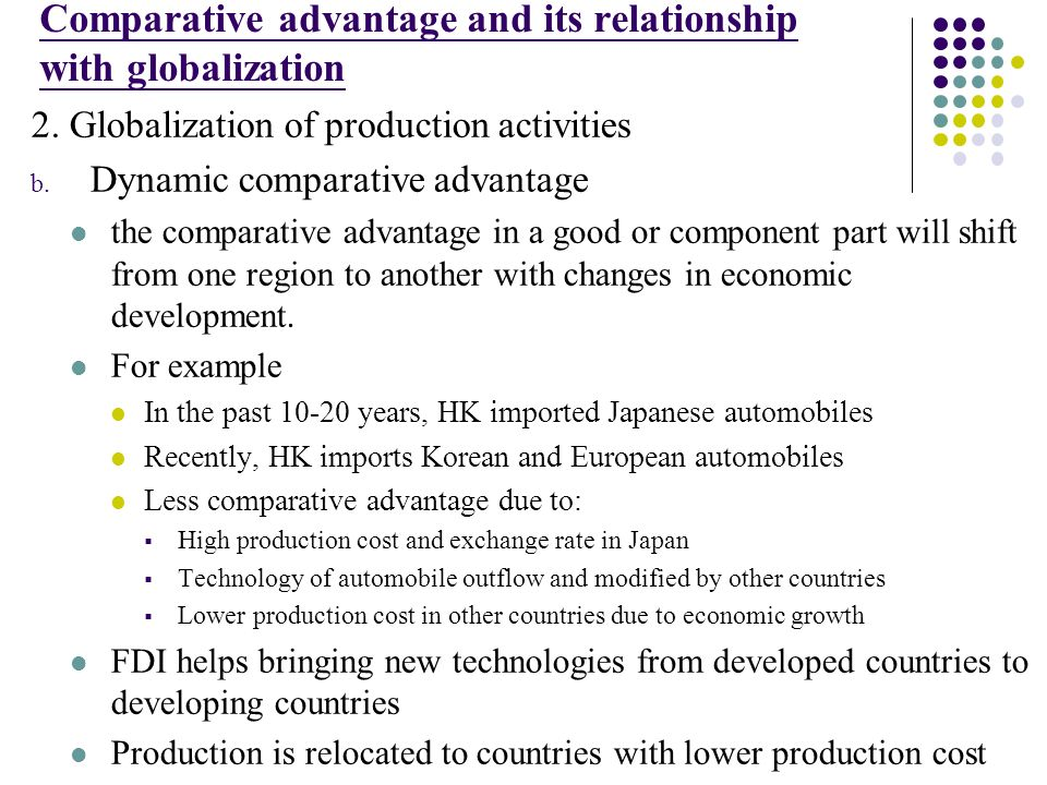 the impact of the economic theories in the relationship of countries What is the impact of financial globalization on of financial globalization in theory can promote economic growth in developing countries.