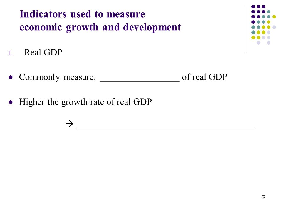 Is GDP the best measure of growth?