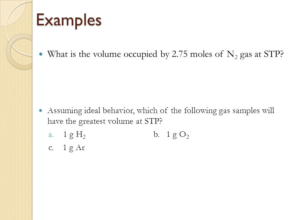 Chapter 5 Gases. - ppt download