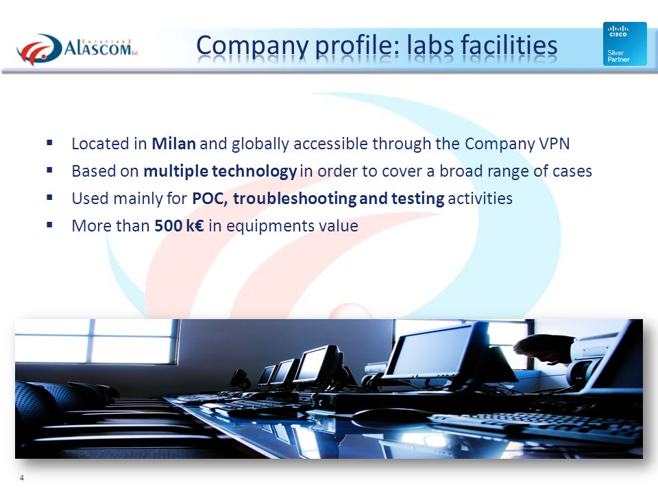 Company profile: labs facilities