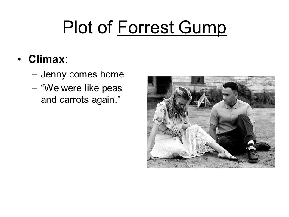 jennys personality interpretation of forrest gump Free essay: the struggles of jenny from forrest gump in the movie forrest gump, jenny is such a misunderstood person and in no way the evil woman.