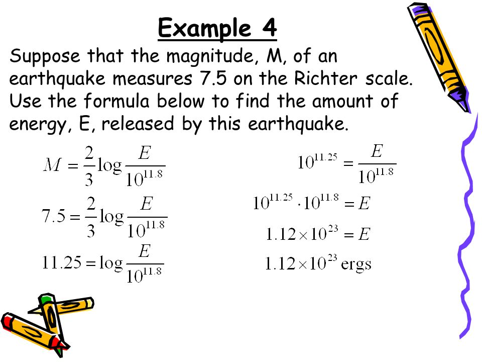 5 minutes Warm-Up Solve each equation for x. Round your answer to ...