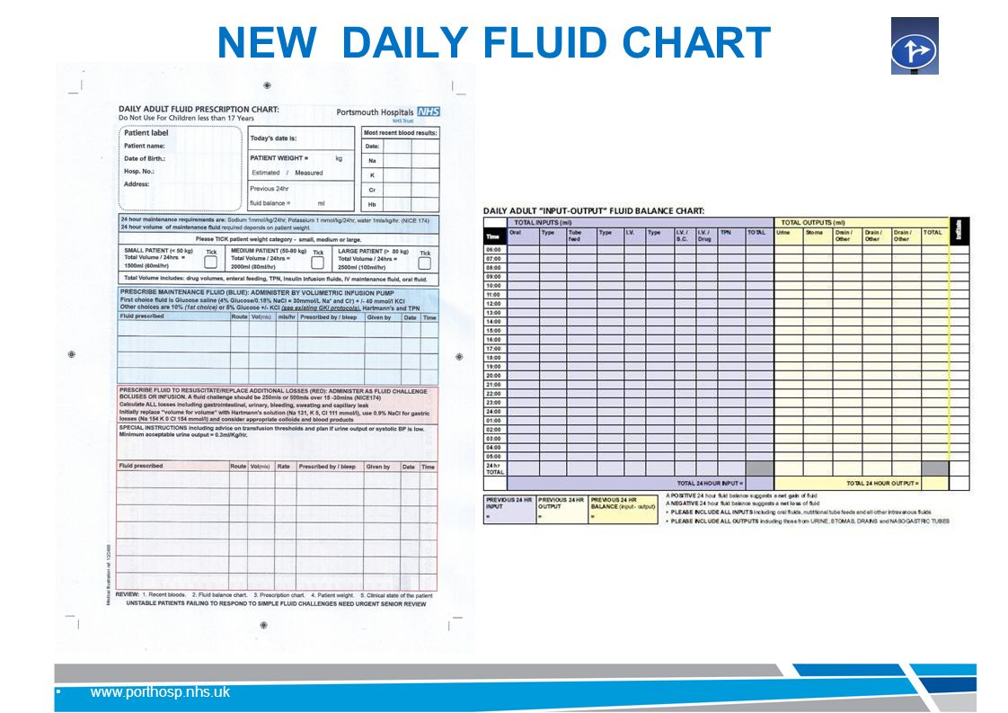 Fluid therapy and management ppt video online download 3 new daily fluid chart geenschuldenfo Images
