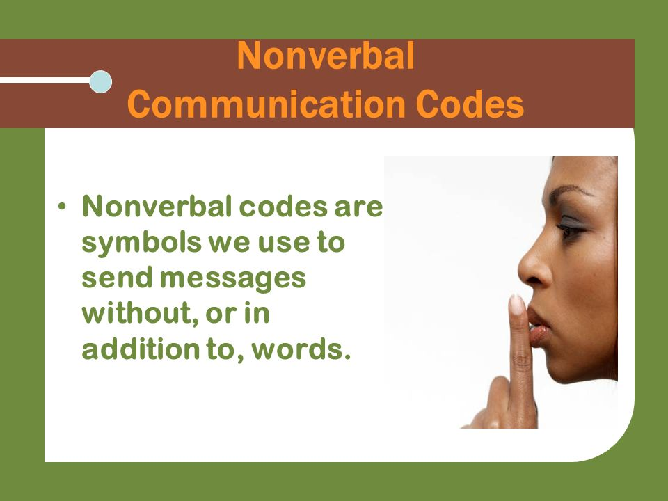 nonverbal communication codes essay