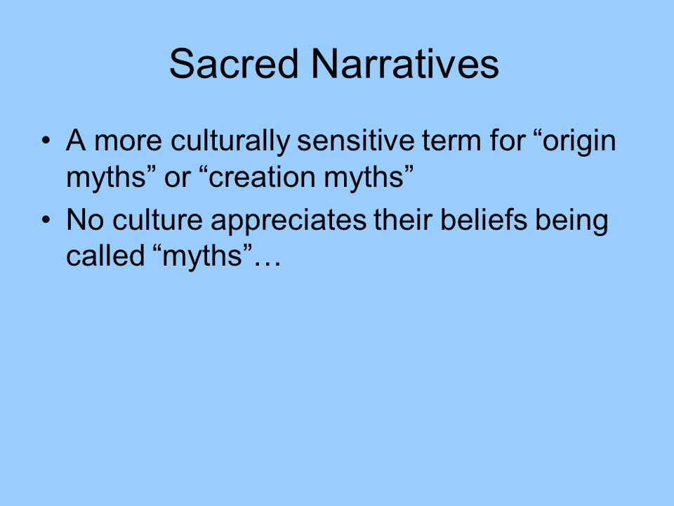 myths and narratives the origin of William r black is a phd candidate in history at rice university  to reject the  lost cause — the collection of historical myths meant to whitewash the hard   the persistence of this narrative can be seen in ken burns's 1990.