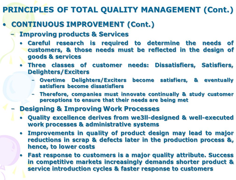 principles of total quality an analysis Tqm journal is an international journal which strikes a great balance between the theory and practice of quality management principles across a broad range of industrial sectors ranging from manufacturing to service to public sector organisations.