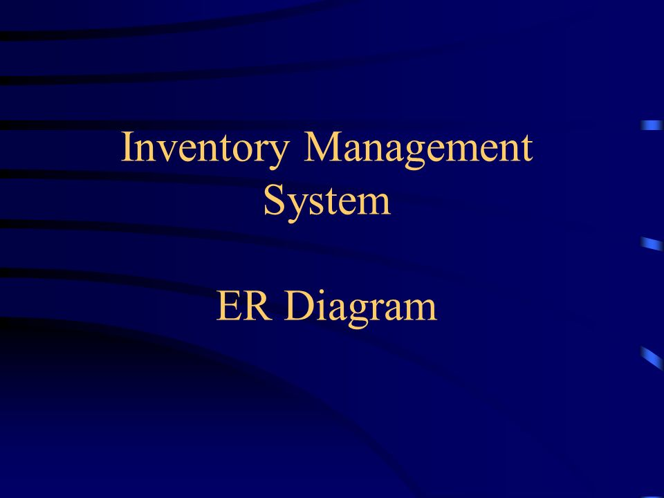 Inventory Management System Ppt Video Online Download