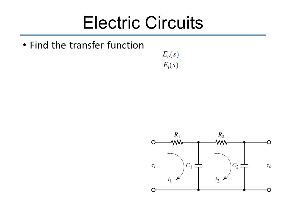 how to find transfer function