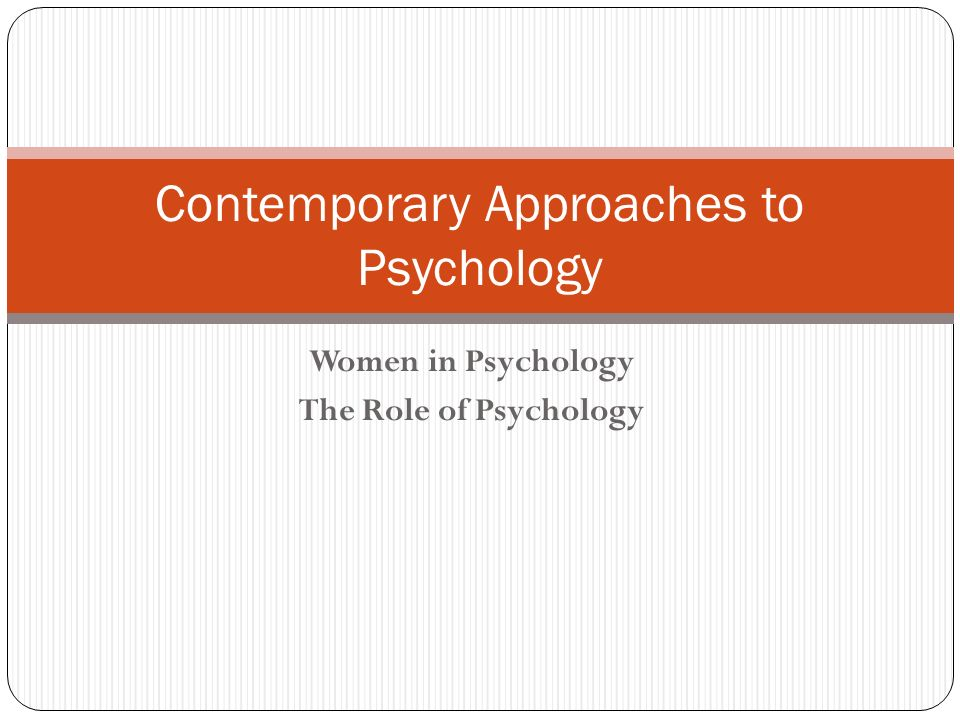 the five approaches to psychology essay Question one name five approaches to psychology 1 social psychology social psychology is about understanding individual behaviour in a social context.