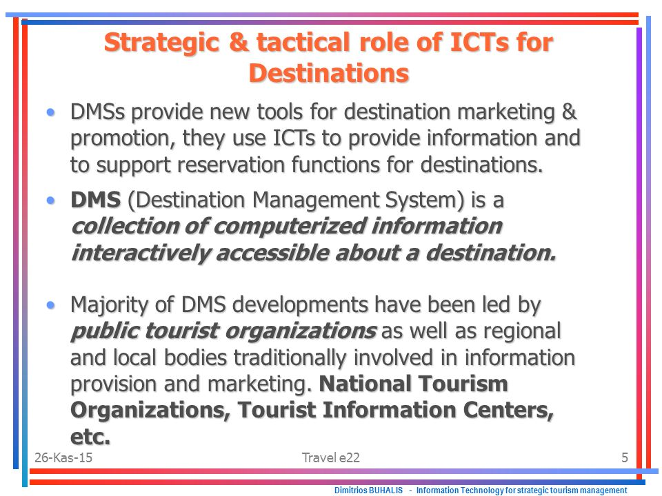 role of tourism in national integrity The ministry of tourism, is the nodal agency for the formulation of national policies and programmes and for the co-ordination of activities of various central government agencies, state governments/uts and the private sector for the development and promotion of tourism in the countrythis ministry is headed by the union minister of state for .
