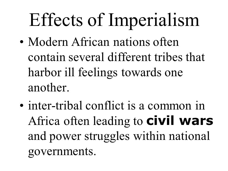 effects imperialism asia China and the west: imperialism, opium,  soon establishes itself as a competitor with the western powers for colonial rights in asia in 1894-5.